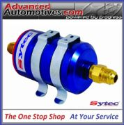 FSE Sytec Anodised Bullet Fuel Filter With -8 JIC Fittings Post Or Pre Filtering